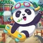 熊猫跑步冒险游戏